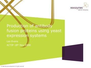 Slideshow presentation by Dr Les Evans, November 2008
