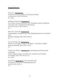 Publikationen und Vorträge