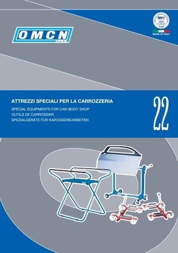 attrezzi speciali per la carrozzeria - Omcn