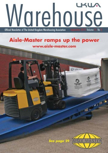 Aisle-Master ramps up the power - United Kingdom Warehousing ...