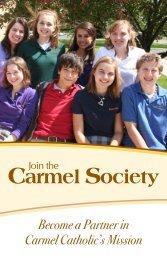Carmel SoCiety memberS - Carmel Catholic High School