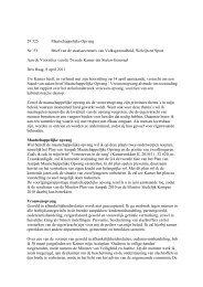 29 325 Maatschappelijke Opvang Nr. 53 Brief van de ... - liigl