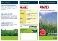 PRATEX - PH Petersen: Saatzucht