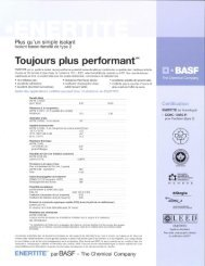 Toujours plus performant - BASF Canada
