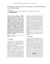 Investigation on Natural Ventilation Techniques in ... - COMSOL.com