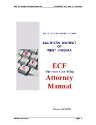 (ECF) for Attorneys