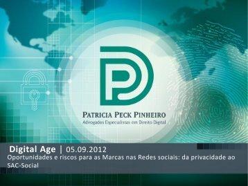Oportunidades e riscos para as marcas nas redes ... - Digital Age 2.0