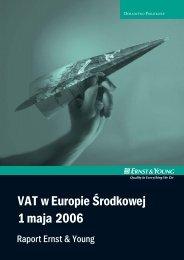 raport VAT_A.indd - Ernst & Young