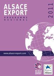 ALSACE EXPORT - Les Vins d'Alsace