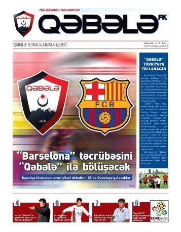 """""""Barselona"""" təcrübəsini """"Qəbələ"""" ilə bölüşəcək"""
