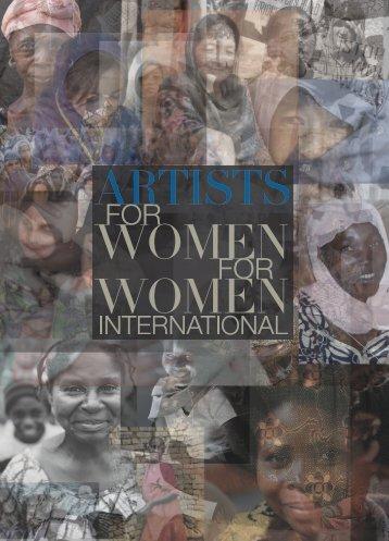 View the Catalogue - Women for Women International