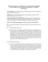 ordinance #2008-9: an ordinance to amend the ... - City of Statesboro