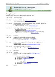 Program (pdf) - Skogbrukets kursinstitutt