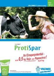 VILOMIN ProtiSpar Flyer - Deutsche Vilomix Tierernährung GmbH