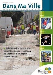 Magazine de mai - juin - Saint-Leu-La-Forêt