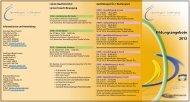 Sportregion Ostfriesland Bildungsprogramm 2013 - Kreissportbund ...