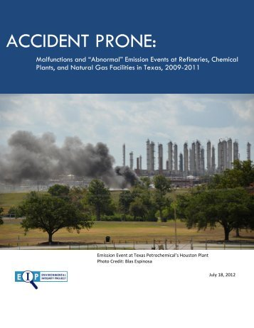 accident prone - Environmental Integrity Project