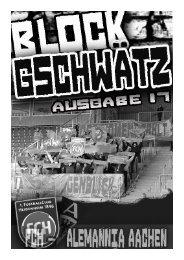 Ausgabe 17 – Alemannia Aachen - Fanatico Boys