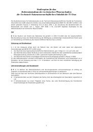 Studienplan für das Doktoratsstudium der ... - mibla.TUGraz.at