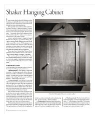 Shaker Hanging Cabinet - Popular Woodworking Magazine