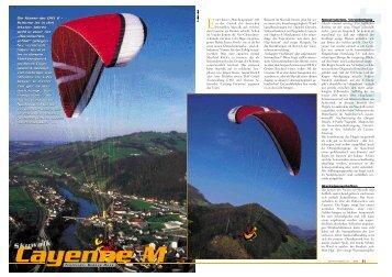 Skywalk Cayenne 6/2003 - Gleitschirm
