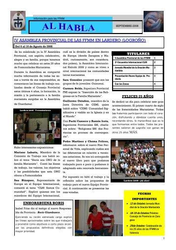 Al Habla_Septiembre_08.pub - Publicaciones Marianistas