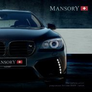 The customization programme for your BMW 7series - Mansory