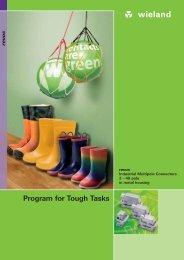 Program for Tough Tasks - Wieland Electric