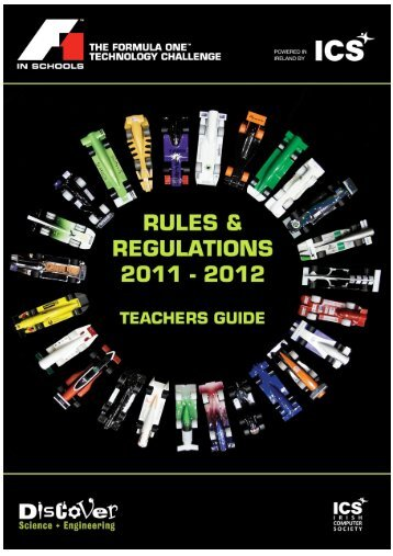 TEACHER'S GUIDE - F1 in Schools
