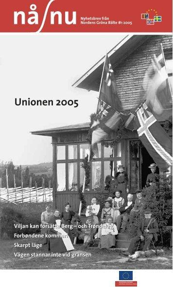 Nr 1 - 2005 - Interreg Sverige Norge