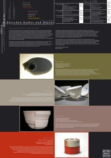 1.skizze leporello keramik 7-07.indd - sibylle meier keramik