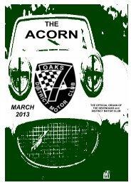 Mar - Sevenoaks & District Motor Club
