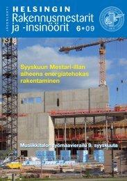 Yhdistyksen jäsenlehti 6/09, PDF tiedosto - Helsingin ...