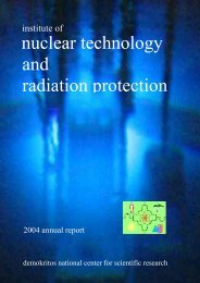 nuclear technology and radiation protection - Institute of Nuclear ...