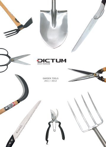 Download gift ideas 2011 as pdf dictum gmbh for Gardening tools list pdf