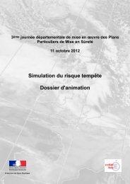 Dossier d'animation - Risques Majeurs et Environnement