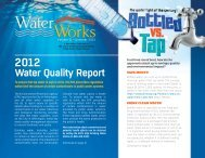 Water Quality Report - City of Wilmington, Delaware