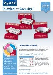ZyWALL USG 20 - Partner - ZyXEL