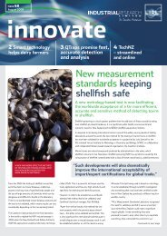 New measurement standards keeping shellfish safe - Industrial ...