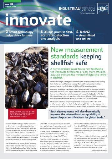 New measurement standards keeping shellfish safe - Industrial ...