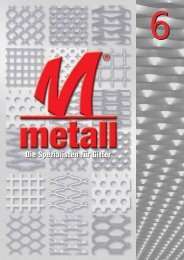 Katalog metall 6 - E. Pfister & Cie AG