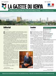 Leader Editorial - Ambassade de France au Kenya