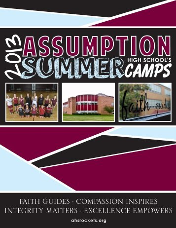 click here. - Assumption High School