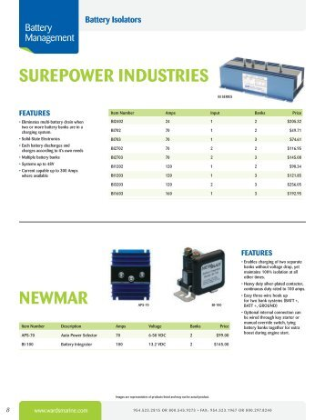 Wardsmarine magazines surepower industries newmar wards marine electric inc publicscrutiny Choice Image