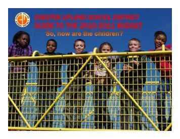 budget - Chester Upland School District