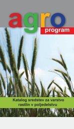 Katalog sredstev za varstvo rastlin v poljedelstvu - Cinkarna Celje
