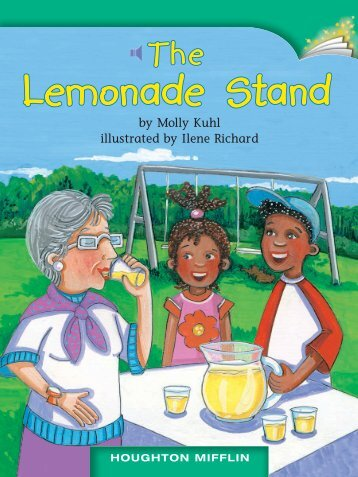 Lesson 23:The Lemonade Stand