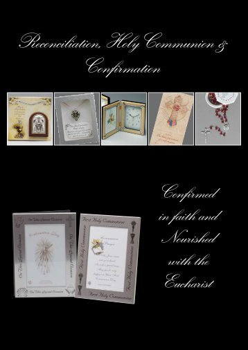 Reconciliation, Holy Communion & Confirmation - Christian Supplies