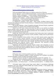 Šiaulių miesto savivaldybės vykdomos programos