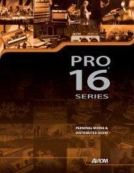 Pro-16 Brochure (.pdf) - Northern Sound & Light